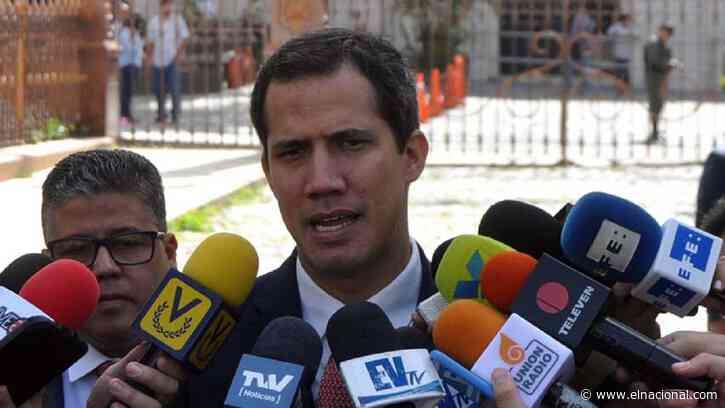 Situación irregular cuando Juan Guaidó llegó al Parlamento