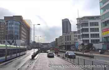 Croydon Underpass: Woman taken to hospital after Park Lane crash