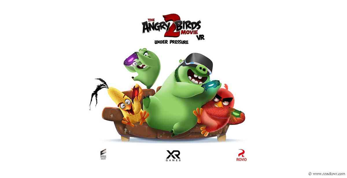 'Angry Birds Movie 2 VR' Studio Raises $2M to Continue Development on AR/VR Games
