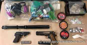 Search Warrant leads to sizable drug seizure