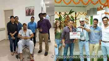 Randeep Hooda gets back from the hospital post getting injured on the sets of Salman Khan starrer 'Radhe'