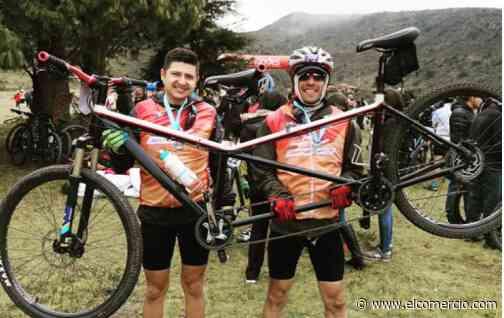 Pablo Vargas, triatleta con 'limitación visual', coronó el volcán Cotopaxi