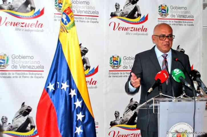 Jorge Rodríguez: «La Asamblea Nacional ha sido muy maltratada por Juan Guaidó»