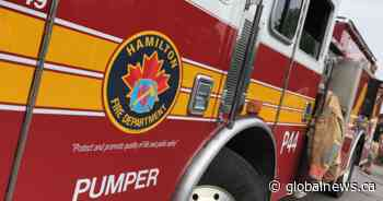 Hamilton police investigating 'suspicious' warehouse fire that left 1 injured