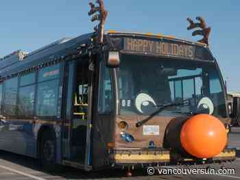 Vancouver's Reindeer Bus is back into service for the holidays