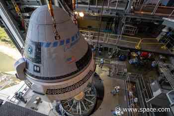 Boeing's 1st Starliner Spacecraft Test Launch Delayed to Dec. 19