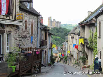 Exploring the Aveyron region of Southern France