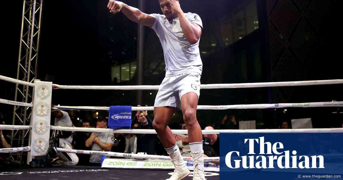 Anthony Joshua predicts a heavyweight trilogy against Andy Ruiz Jr