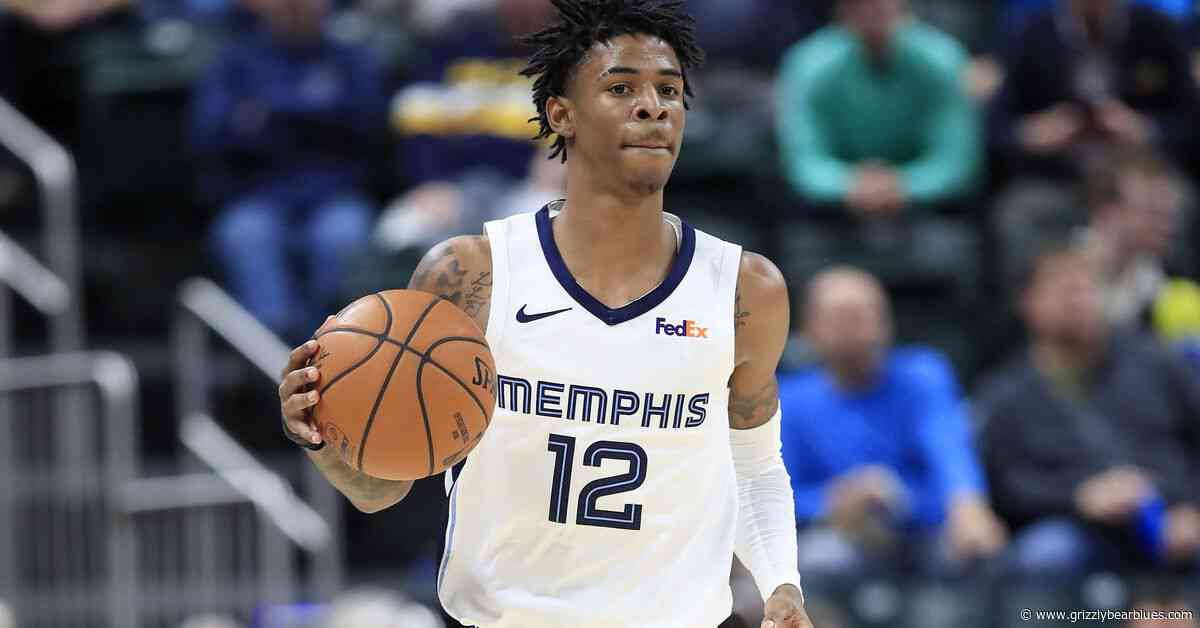 Ja Morant Named Western Conference Rookie of the Month for November