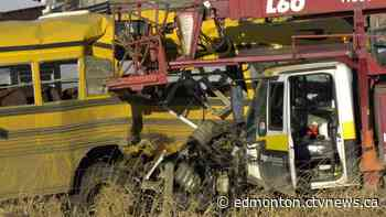 Online fundraiser launched for victims of school bus crash north of Edmonton