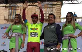 Jorge Montenegro comandará a Ecuador en el 'Tour UCI 2.1' de Colombia; Richard Carapaz correrá por el Ineos