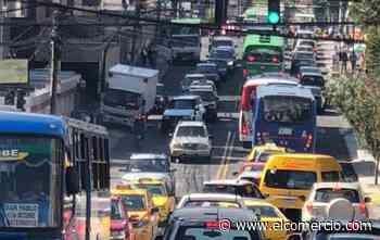 Tráfico lento y pesado se registra en las inmediaciones de la avenida 12 de Octubre por trabajos viales