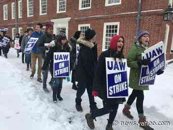 Harvard grad student workers go on strike, seeking $25 an hour minimum wage, other demands