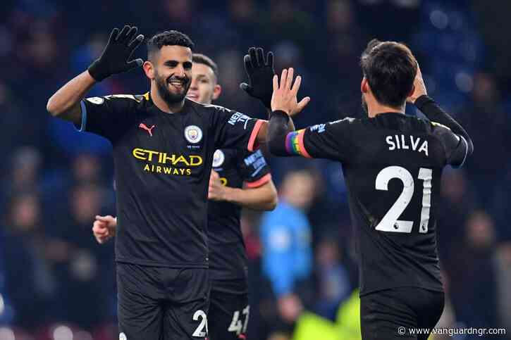 Manchester City bounce back with Burnley drubbing