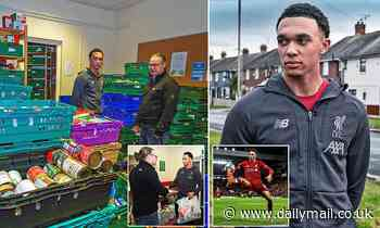 Liverpool defender Trent Alexander-Arnold explains how his mum inspires him to support others