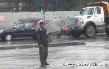 Lluvia en el sur y centro de Quito la tarde de este martes 3 de diciembre
