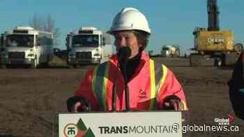 Alberta energy minister calls Trans Mountain pipeline announcement 'very exciting step forward'