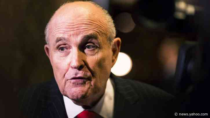 Impeachment Investigators Got Rudy Giuliani's Phone Records—And They're Quite Revealing