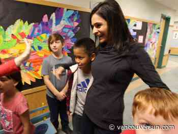 Adopt-A-School: Renu Bakshi picks up tab for needy kids in Nanaimo