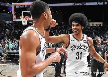 Nets vs. Hawks: Jarrett Allen and Spencer Dinwiddie Have a Connection