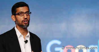 Google's Founders Step Aside as Sundar Pichai Takes Over as Alphabet C.E.O.