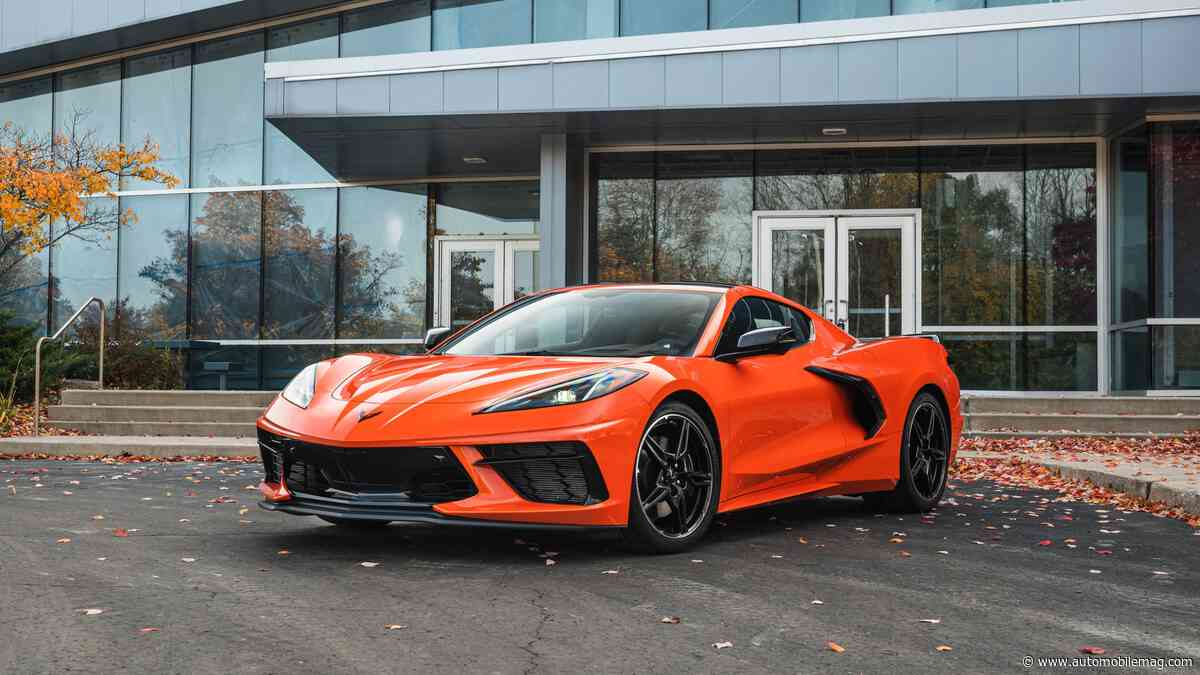 Chevy Loses Money on Every C8 Corvette Stingray Under $80K