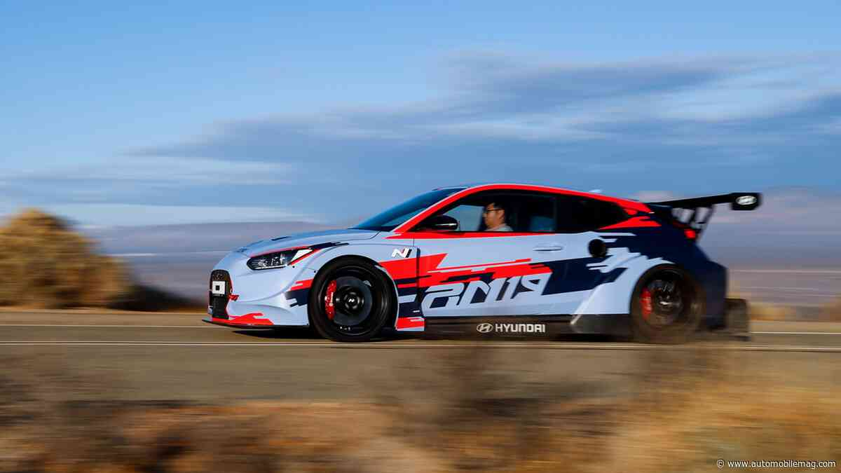 Driven: Hyundai's Mid-Engine RM19 Concept Is Shockingly Friendly
