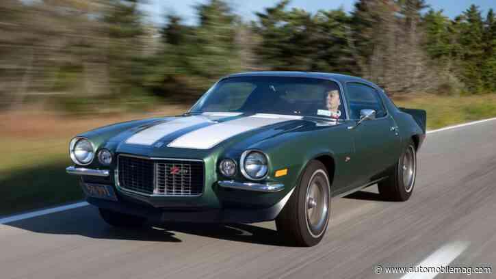 This 1970 Chevrolet Camaro Z/28 Has Just 8,500 Miles