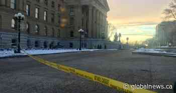 Government addresses security questions after suicide at Alberta legislature