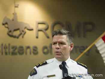 Cry for help from Surrey RCMP