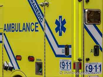 Driver dies when his concrete-mixer truck overturns in Candiac