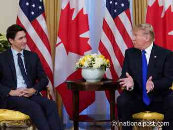 'What are you at?' Donald Trump presses Trudeau over Canada's NATO defence spending