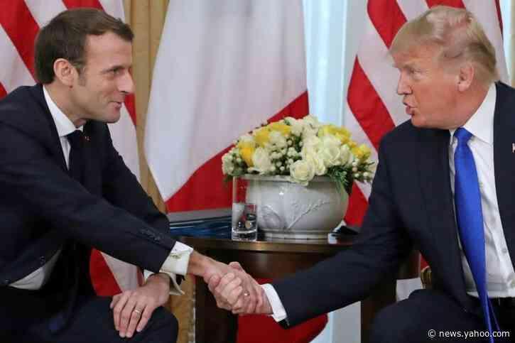 Trump, Macron and Erdogan clash overshadows NATO summit