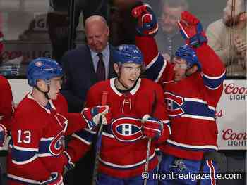 Canadiens snap eight-game losing skid with 4-2 win over the Islanders