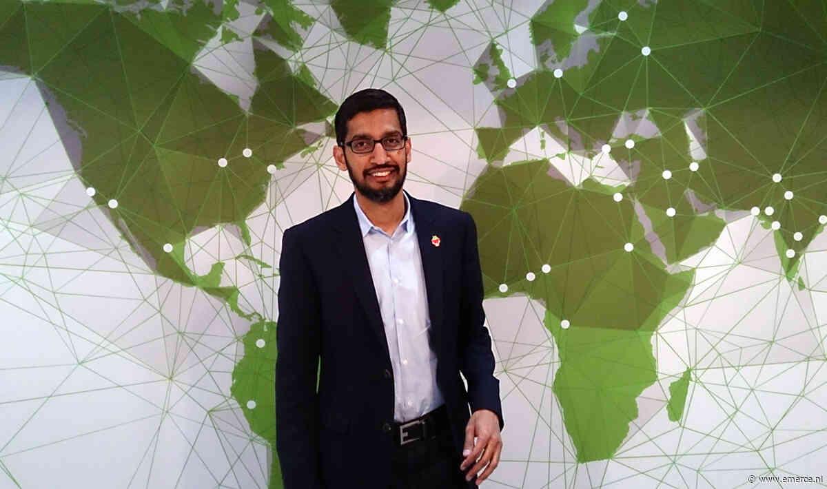 Googles Sundar Pichai nu ook 'eindbaas' bij moeder Alphabet