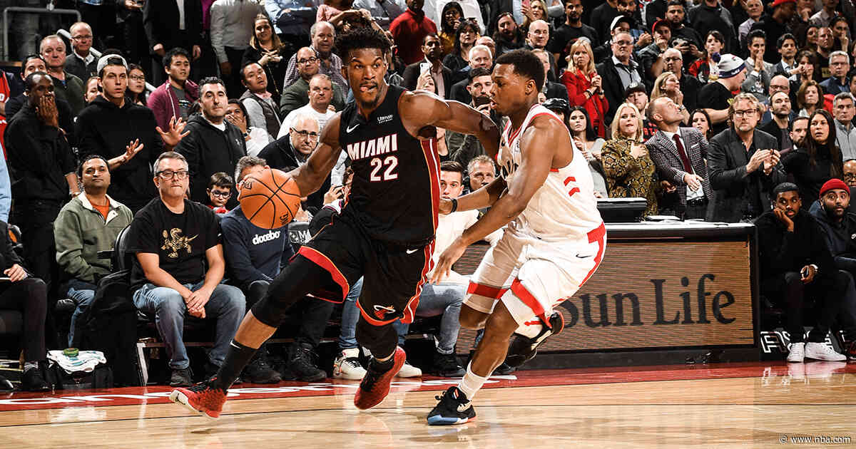 Butler Takes Over Late, Leads HEAT Past Raptors