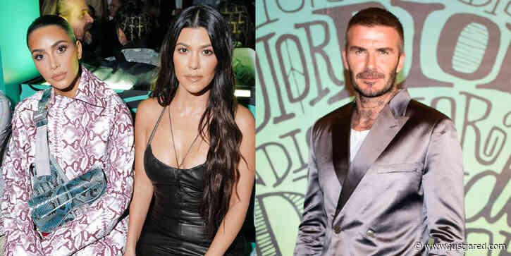 Kim & Kourtney Kardashian, David Beckham, & More Travel to Miami for Dior Men's Show!