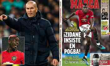 Zinedine Zidane 'wants Paul Pogba at all costs' but must convince Real Madrid board to sign him