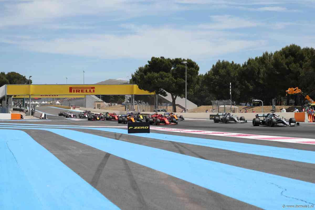 Organisatie Franse Grand Prix overweegt grote veranderingen lay-out Paul Ricard