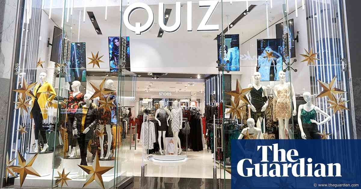 Fashion brand Quiz makes £6.8m loss amid high street sales slump