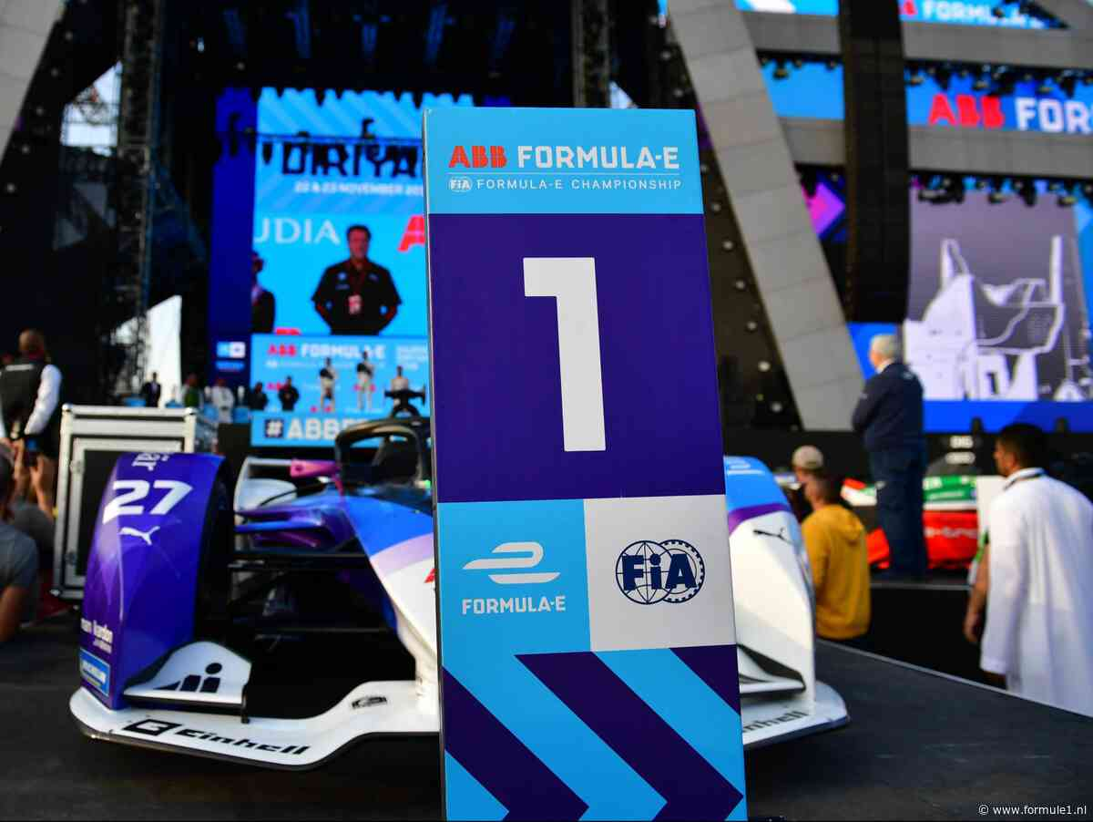 Formule E wordt vanaf seizoen 2020-2021 officieel FIA wereldkampioenschap