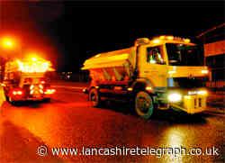 Salt bins fully-stocked for winter to keep roads clear in Blackburn with Darwen