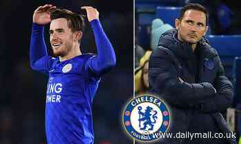 Chelsea will make Leicester star Ben Chilwell top January transfer target if ban is lifted
