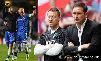 How Frank Lampard and John Terry have gone from Chelsea friends to rivals