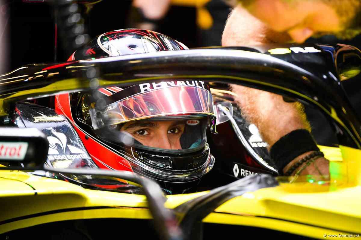 Ocon positief na eerste dag met Renault: 'Het voelde goed'