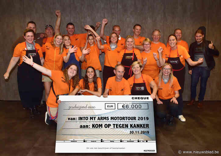 Motorrijders zamelen 6.000 euro in voor Into My Arms