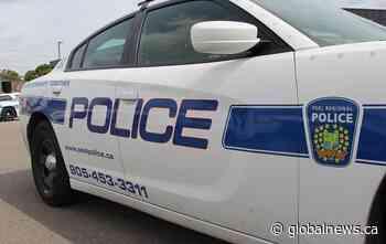 Man in custody after multi-vehicle crash involving police cruisers in Brampton