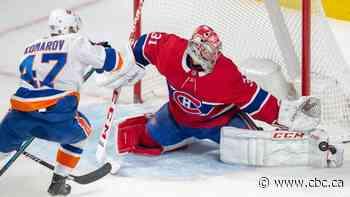 Canadiens snap 8-game winless streak against Islanders in front of team legends