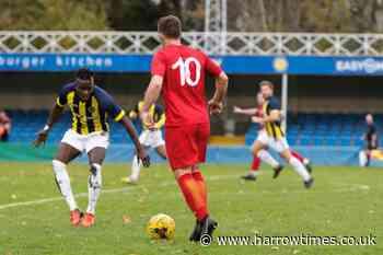 Harrow Borough battered by Brentford B in London Senior Cup