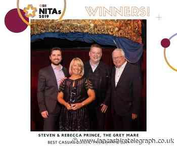 Belthorn's Grey Mare pub wins national food award